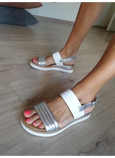 Topukla 059  101 Sandalet Gri